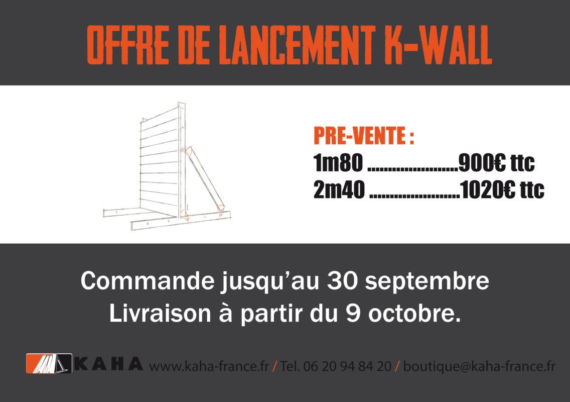Offre de vente du K-WALL