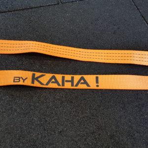 Sangle fermée longueur 200cm, largeur 38mm, idéal pour suspendre vos agrès bas rapidement (pneu, anneau…) sur une poutre ou une branche. Charge maxi 100kg. Ne risque pas de s'ouvrir, idéal pour usage intensif. Pour course à obstacles, course type OCR, parcours d'obstacles indoor de type Ninja Warrior