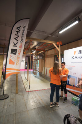 SALON INTERNATIONAL DU SPORT AU FEMININ JUIN 2018 KAHA pour course à obstacles, course type